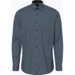 Olymp Level Five - Koszula męska łatwa w prasowaniu, niebieski. Niebieskie koszule męskie na spinki OLYMP Level Five, m, w kratkę, z materiału. Za 249,95 zł.