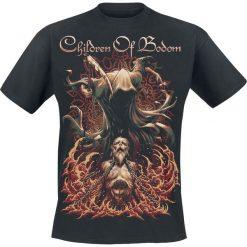 Children Of Bodom Patron Saint T-Shirt czarny. Czarne t-shirty męskie z nadrukiem Children Of Bodom, xl, z dekoltem na plecach. Za 74,90 zł.
