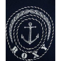 Roxy Bluza dress blues. Niebieskie bluzy chłopięce marki Roxy, z bawełny. W wyprzedaży za 152,10 zł.
