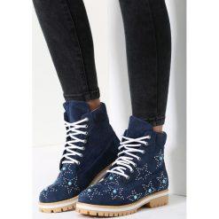 Granatowe Traperki Wake Up Little. Niebieskie buty zimowe damskie marki vices. Za 64,99 zł.