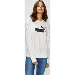Puma - Bluza. Szare bluzy z nadrukiem damskie Puma, m, z bawełny, bez kaptura. W wyprzedaży za 169,90 zł.