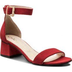 Rzymianki damskie: Sandały OLEKSY – 2148/955/000/000/000 Czerwony