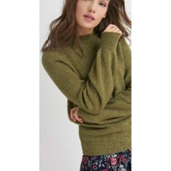 Swetry damskie: Luźny sweter boucle