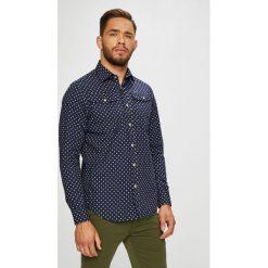 G-Star Raw - Koszula. Szare koszule męskie na spinki marki S.Oliver, l, z bawełny, z włoskim kołnierzykiem, z długim rękawem. Za 469,90 zł.