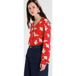 Bluzki asymetryczne: b.young FERIAN Bluzka red