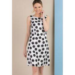 Sukienki: Sukienka w grochy