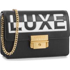 Torebka GUESS - HWSTRC L8387  BML. Czarne torebki klasyczne damskie marki Guess, z aplikacjami, ze skóry. W wyprzedaży za 559,00 zł.