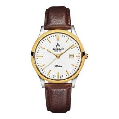Zegarek Atlantic Damskie Sealine 22341.43.21 Szafirowe szkło. Niebieskie zegarki damskie Atlantic, szklane. Za 788,99 zł.