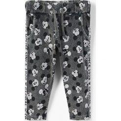 Odzież chłopięca: Mango Kids - Spodnie dziecięce Mickeyp 80-104 cm