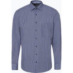 Koszule męskie na spinki: Andrew James - Koszula męska łatwa w prasowaniu, niebieski