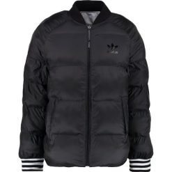 Adidas Originals Kurtka Bomber black. Szare bomberki damskie marki adidas Originals, na co dzień, z nadrukiem, z bawełny, casualowe, z okrągłym kołnierzem, proste. W wyprzedaży za 356,95 zł.