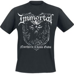 T-shirty męskie: Immortal Northern chaos gods T-Shirt czarny