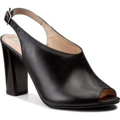 Rzymianki damskie: Sandały EKSBUT - 4615-139-1G Czarny
