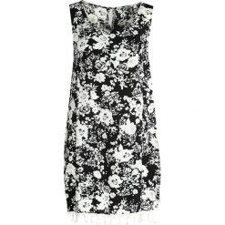Sukienki: Czarno-Biała Sukienka Bird Of Paradise