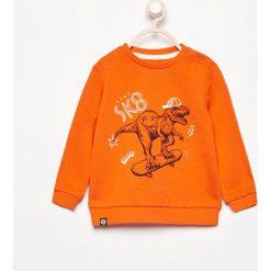 Odzież niemowlęca: Bluza z nadrukiem - Pomarańczo