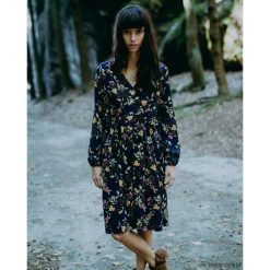 Sukienki: Granatowa sukienka Melisa
