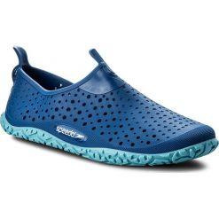 Buty SPEEDO - Jelly Jm 8-079839216 Blue/Blue. Niebieskie buciki niemowlęce chłopięce marki Born2be, z materiału, z okrągłym noskiem, na obcasie. Za 79,99 zł.