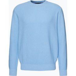 Andrew James - Sweter męski, niebieski. Niebieskie swetry klasyczne męskie Andrew James, m, z bawełny. Za 179,95 zł.