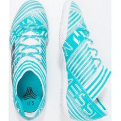 Adidas Performance NEMEZIZ MESSI TANGO 17.3 IN Halówki footwear white/legend ink/energy blue. Białe buty sportowe męskie adidas Performance, z gumy. W wyprzedaży za 201,75 zł.