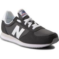 Trampki chłopięce: Sneakersy NEW BALANCE – KL220GWY  Szary