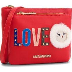 Torebka LOVE MOSCHINO - JC4274PP06KJ0500 Rosso. Czerwone listonoszki damskie Love Moschino, ze skóry ekologicznej. Za 589,00 zł.