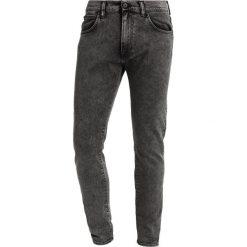 Spodnie męskie: Edwin ED90 Jeans Skinny Fit goth black