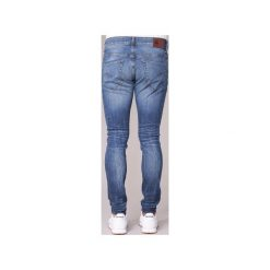 Jeansy skinny G-Star Raw  3301 SUPER SLIM. Czarne jeansy męskie skinny marki G-Star RAW, l, z materiału, retro. Za 307,30 zł.
