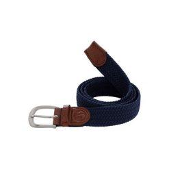 Pasek do spodni do golfa 500 rozmiar 2. Niebieskie paski damskie marki INESIS, w paski, z materiału. Za 39,99 zł.