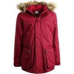 Jack Wolfskin ELK ISLAND 2IN1  Parka garnet red. Fioletowe kurtki dziewczęce marki Jack Wolfskin, z materiału. W wyprzedaży za 527,20 zł.