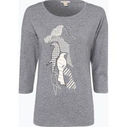 Esprit Casual - Koszulka damska, szary. Szare t-shirty damskie Esprit Casual, xxl, z nadrukiem, z bawełny. Za 89,95 zł.