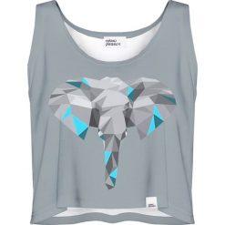 Colour Pleasure Koszulka damska CP-035 209 szara r. XXXL-XXXXL. T-shirty damskie Colour pleasure. Za 64,14 zł.