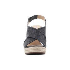 Sandały Geox  D Janira C D82P6C 06RBC C9999. Szare sandały damskie marki Geox, z gumy. Za 345,10 zł.