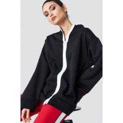 Bluzy rozpinane damskie: Cheap Monday Bluza Version Sweat Cm Hacker - Black