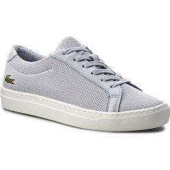 Trampki chłopięce: Sneakersy LACOSTE - L.12.12 217 1 CAJ 7-33CAJ1014334 Lt Gry