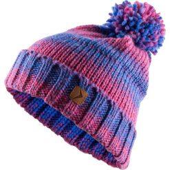 Czapka damska CAD606 - kobalt melanż - Outhorn. Fioletowe czapki zimowe damskie Outhorn, na zimę, melanż, z polaru. Za 34,99 zł.