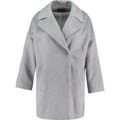 Płaszcze damskie pastelowe: CeHCe Płaszcz wełniany /Płaszcz klasyczny hellgrau