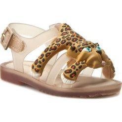 Sandały dziewczęce: Sandały MELISSA – Mini Melissa Flox+Jeremy Scott 31933 Beige/Yellow 51516