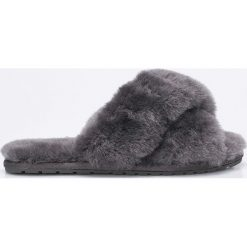 Emu Australia - Kapcie Mayberry. Szare kapcie damskie EMU Australia, z materiału. Za 269,90 zł.