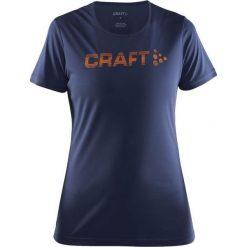 Bluzki asymetryczne: Craft Koszulka damska  Prime Logo Tee Granatowa r. M  (1904342-2384)