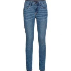 """Dżinsy Skinny z haftem bonprix niebieski """"stone"""". Niebieskie jeansy damskie marki House, z jeansu. Za 79,99 zł."""