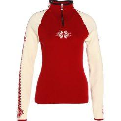 Swetry klasyczne damskie: Dale of Norway GEILO Sweter raspberry/off white/navy