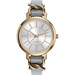 Zegarek kwarcowy w kolorze szaro-złotym. Szare, analogowe zegarki damskie Esprit Watches, ze stali. W wyprzedaży za 272,95 zł.