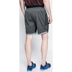 Adidas Performance - Szorty. Czarne spodenki sportowe męskie adidas Performance, z dzianiny, sportowe. W wyprzedaży za 89,90 zł.