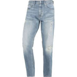 Spodnie męskie: Calvin Klein Jeans 056 ATHLETIC TAPER Jeansy Slim Fit denim