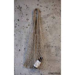 Torebki klasyczne damskie: kobiece lniane sznurki – SIATKA vibes 60 – 70 s