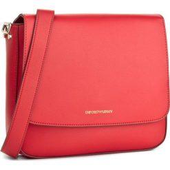 Torebka EMPORIO ARMANI - Messenger Bag S St. Minicapra Y3B082 YH23A 80041  Coral. Czerwone listonoszki damskie Emporio Armani. W wyprzedaży za 449,00 zł.