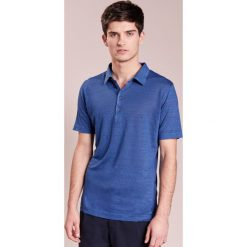 Koszulki polo: 120% Lino UOMO CORTA Koszulka polo blue elettrico