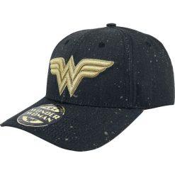Czapki damskie: Wonder Woman Logo Czapka baseballowa czarny