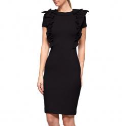 Sukienka w kolorze czarnym. Czarne sukienki na komunię marki YULIYA BABICH, xs, z dekoltem na plecach, midi. W wyprzedaży za 379,95 zł.
