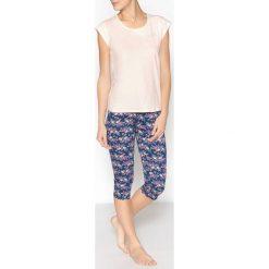 Bielizna damska: Krótka piżama z nadrukiem